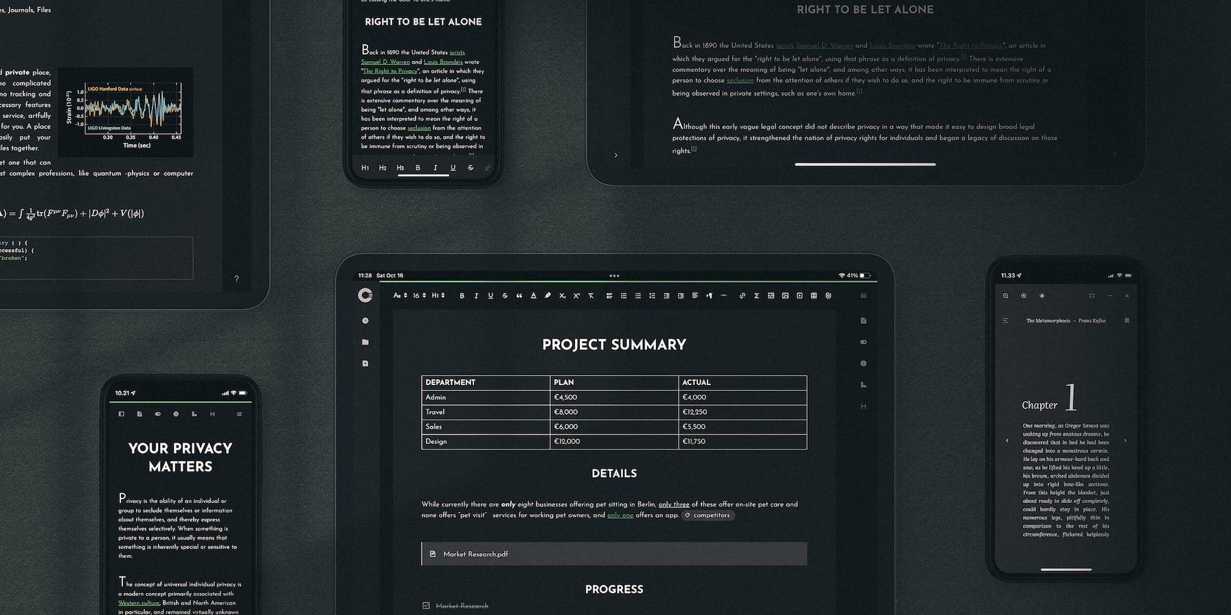 Cryptee Docs Desktop